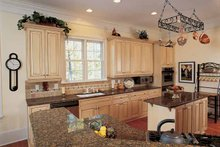 Country Interior - Kitchen Plan #37-257