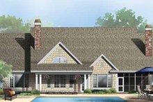 Craftsman Exterior - Rear Elevation Plan #929-862
