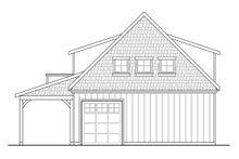 Craftsman Exterior - Rear Elevation Plan #124-934