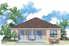 House Plan Design - Mediterranean Exterior - Rear Elevation Plan #930-382