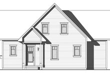 Traditional Exterior - Front Elevation Plan #23-2609