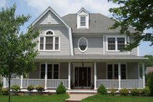 House Plan Design - Colonial Exterior - Front Elevation Plan #1053-51