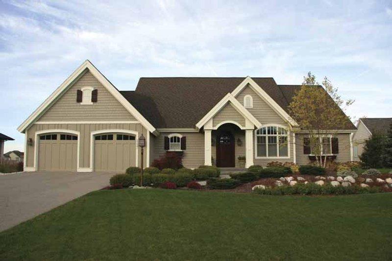 House Plan Design - European Exterior - Front Elevation Plan #928-108