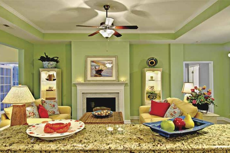 Country Interior - Family Room Plan #930-367 - Houseplans.com