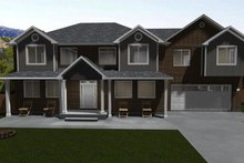 Architectural House Design - Traditional Exterior - Front Elevation Plan #1060-18