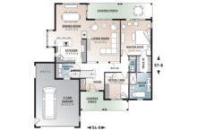 Traditional Floor Plan - Main Floor Plan Plan #23-2534
