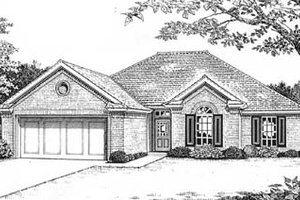Traditional Exterior - Front Elevation Plan #310-572
