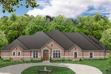 Dream House Plan - Traditional Exterior - Front Elevation Plan #84-498