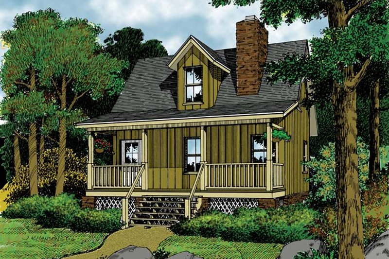 House Plan Design - Mediterranean Exterior - Front Elevation Plan #417-577