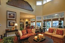 Country Interior - Family Room Plan #132-483