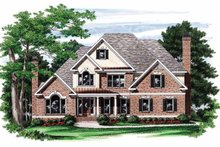 Home Plan - Colonial Exterior - Front Elevation Plan #927-760
