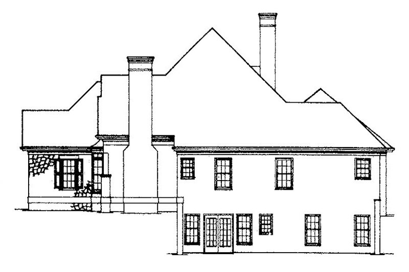 Country Exterior - Other Elevation Plan #429-79 - Houseplans.com