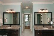 Craftsman Style House Plan - 4 Beds 3.5 Baths 3132 Sq/Ft Plan #929-407 Interior - Master Bathroom