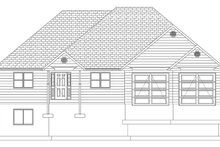 Ranch Exterior - Front Elevation Plan #1060-10