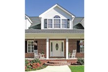 Home Plan - Country Exterior - Front Elevation Plan #314-281