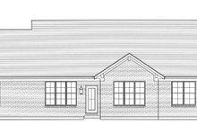 Craftsman Exterior - Rear Elevation Plan #46-836