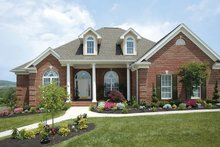 Ranch Exterior - Front Elevation Plan #472-168