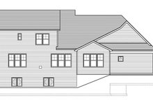 Craftsman Exterior - Rear Elevation Plan #1010-161