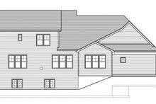 House Design - Craftsman Exterior - Rear Elevation Plan #1010-161