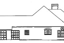 Architectural House Design - Mediterranean Exterior - Other Elevation Plan #472-81