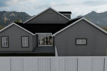 Dream House Plan - Craftsman Exterior - Other Elevation Plan #1060-70