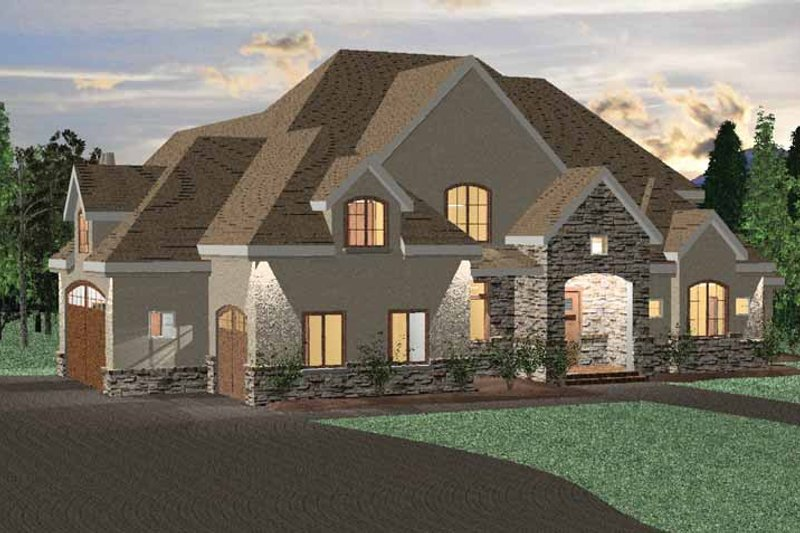 Country Exterior - Front Elevation Plan #937-12 - Houseplans.com