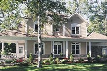 House Plan Design - Country Exterior - Other Elevation Plan #23-282
