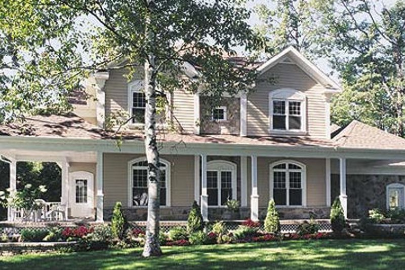 Country Exterior - Other Elevation Plan #23-282 - Houseplans.com