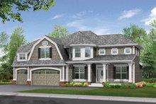 Craftsman Exterior - Front Elevation Plan #132-301