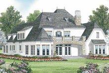 House Plan Design - Tudor Exterior - Rear Elevation Plan #453-467