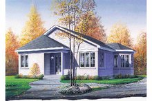 Home Plan - Victorian Exterior - Front Elevation Plan #23-2359