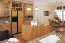 Country Interior - Kitchen Plan #929-494