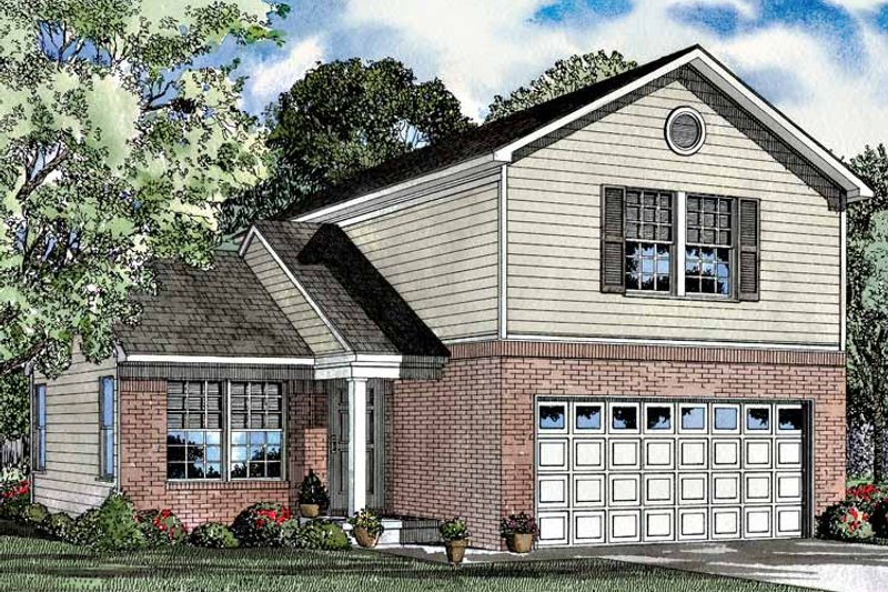 Colonial Exterior - Front Elevation Plan #17-3041 - Houseplans.com