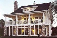 Architectural House Design - Bungalow Exterior - Rear Elevation Plan #928-22