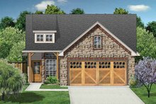 House Plan Design - Ranch Exterior - Front Elevation Plan #84-668