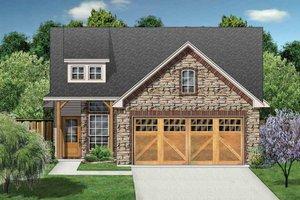 House Design - Ranch Exterior - Front Elevation Plan #84-668