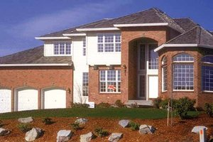 Traditional Exterior - Front Elevation Plan #509-133