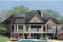 Dream House Plan - Craftsman Exterior - Rear Elevation Plan #929-26