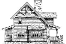House Plan Design - Cabin Exterior - Other Elevation Plan #942-25