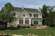 Craftsman Exterior - Rear Elevation Plan #928-208
