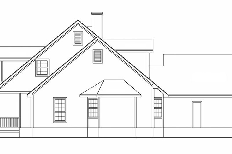 Country Exterior - Other Elevation Plan #472-246 - Houseplans.com