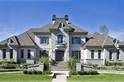 European Style House Plan - 3 Beds 3 Baths 3536 Sq/Ft Plan #138-251 Exterior - Front Elevation