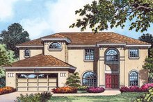 Country Exterior - Front Elevation Plan #1015-53