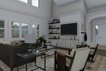 House Plan Design - Craftsman Interior - Family Room Plan #1060-70