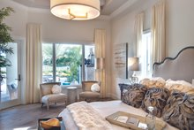 Mediterranean Interior - Master Bedroom Plan #930-444