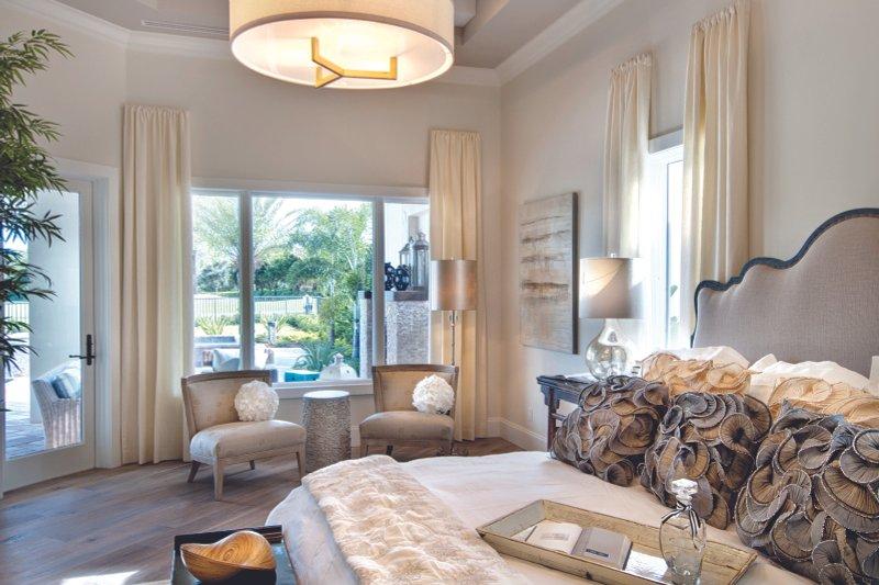 Mediterranean Interior - Master Bedroom Plan #930-444 - Houseplans.com
