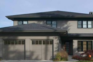 Prairie style house plan 3 beds 2 5 baths 3407 sq ft for Homeplans com reviews