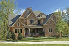 Dream House Plan - European Exterior - Front Elevation Plan #54-277