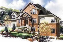 Architectural House Design - Traditional Exterior - Front Elevation Plan #5-470