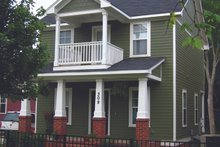 Architectural House Design - Craftsman Exterior - Front Elevation Plan #936-21